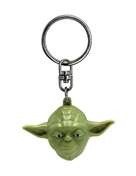 "ABYstyle - STAR WARS - Porte-clés 3D ""Yoda"""