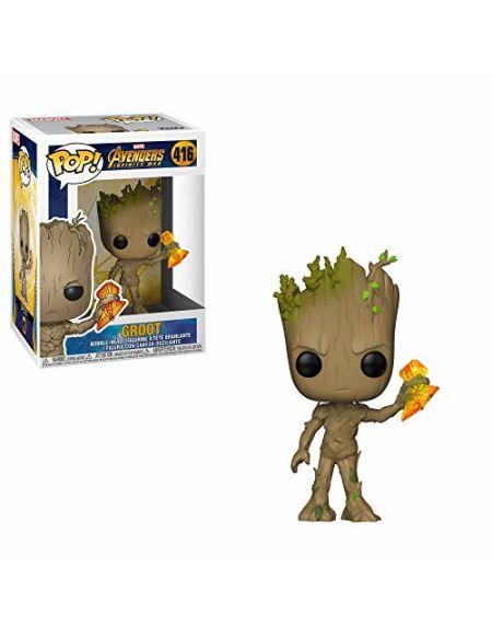 Figurine Pop! Groot avec Stormbreaker - Marvel Avengers Infinity War