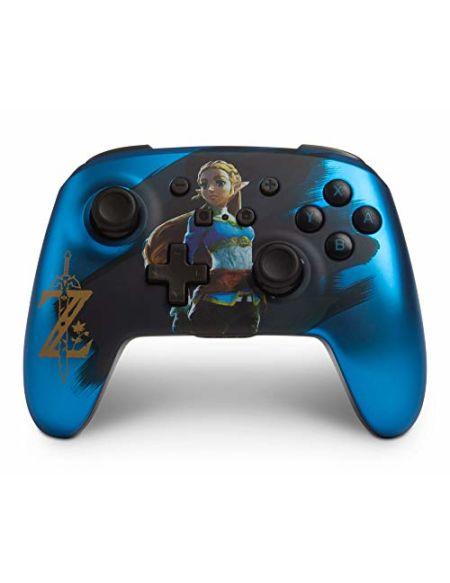 Manette sans Fil Améliorée pour Nintendo Switch - Zelda bleu