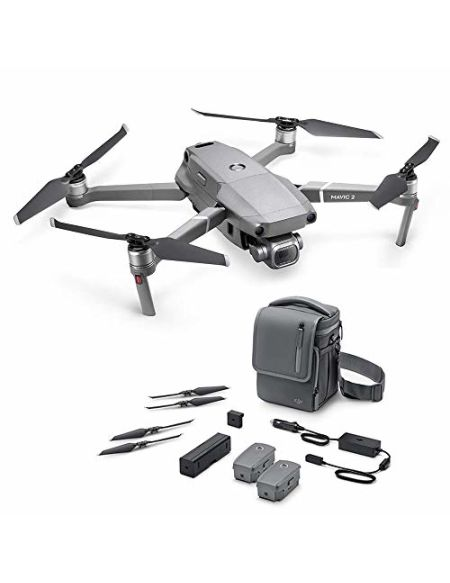 "DJI Mavic 2 Pro Fly More Combo - Kit Drone (Caméra Hasselblad, Video 4K HDR, Capteur CMOS de 1"" et 20 Mpx, 3 Batteries, Chargeur de batteries, 10 hélices etc.)"