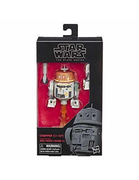 Star Wars - Edition Collector - Figurine Black Series Chopper - 15 cm