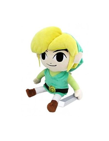 Sanei- Zelda Link Peluche, 75ZEL023, Multicolore