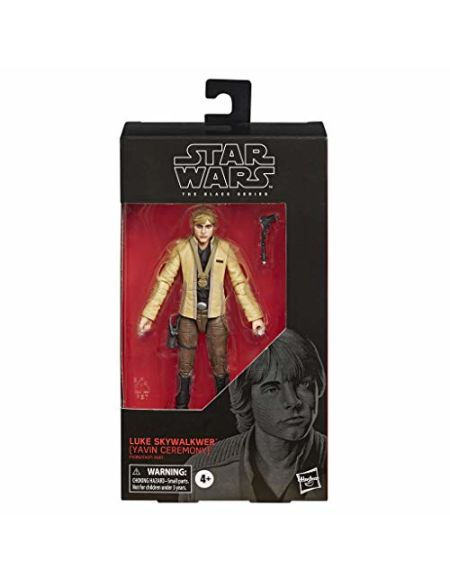Star Wars - Edition Collector - Figurine Black Series Luke Skywalker (Cérémonie Yavin) - 15 cm