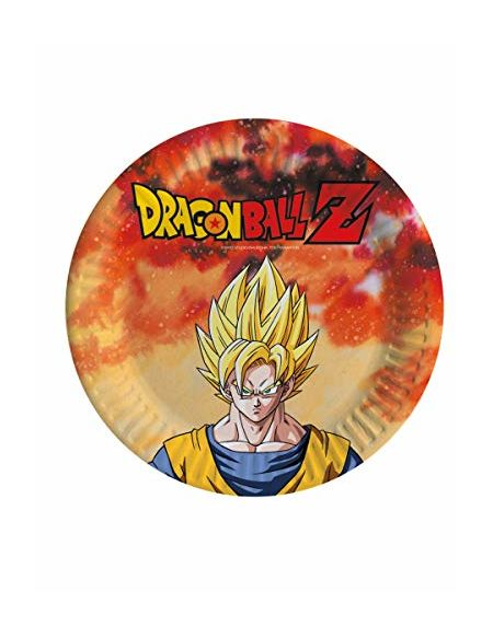 comogiochi Assiette 18 cm Dragon Ball Z, Multicolore, 5 cg82006