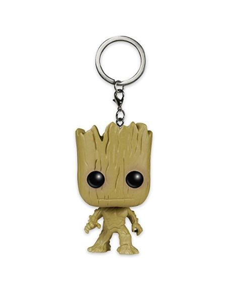 Funko Les Gardiens du Galaxy Pop! Porte-clé Wackel Groot, Environ Taille L : 4 cm.
