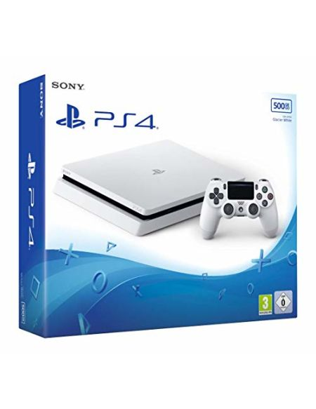 PS4 Slim 500 Go F - blanc