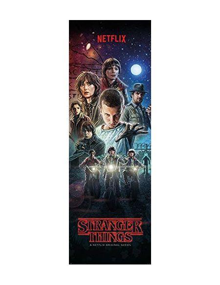 Poster de Porte Stranger Things Saison 1 - 53x158cm