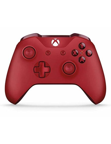 Manette Xbox One Microsoft sans fil Rouge