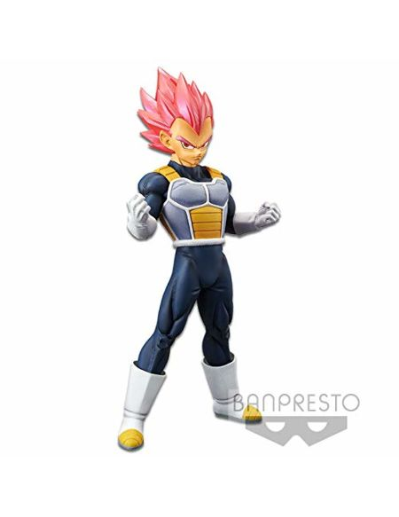 Figurine - DBZ - Movie Cyokoku Buyuden - Super Saiyan God Vegeta 22 cm
