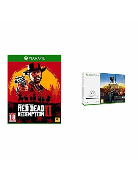 Xbox One S 1To + Playerunknown's Battlegrounds + Red Dead Redemption 2