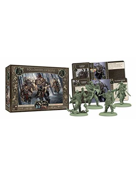 CoolMiniOrNot CMNSIF407 Ice and Fire A Song of Ice & Fire Figurine de Table en Forme d'os