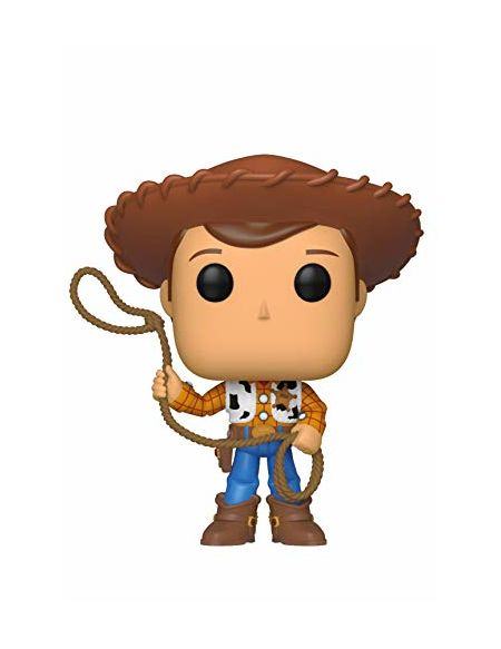 Funko- Figurines Pop Vinyl: Disney: Toy Story 4: Woody Collectible Figure, 37383, Multi