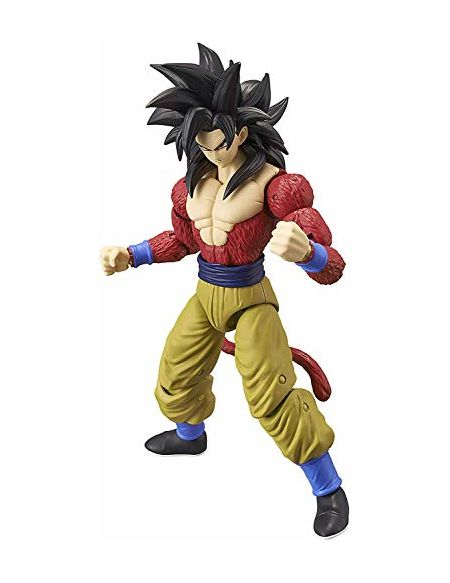 Bandai - Dragon Ball Super - Figurine Dragon Star 17 cm - Super Saiyan 4 Goku - 36180