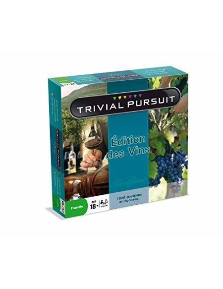 Jeu de société Trivial Pursuit Editions des Vins 1800 Questions
