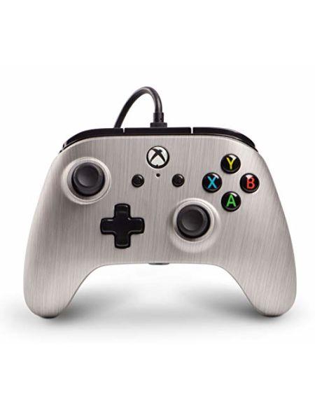 Manette filaire pour Xbox One - Aluminium brossé