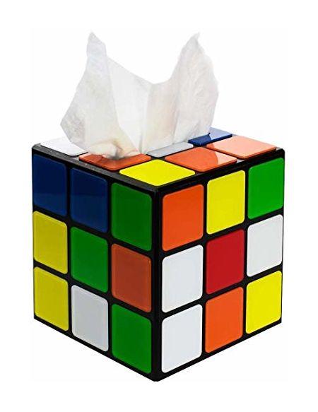 getDigital 8372 Boite à mouchoirs cube magique avec fermeture aimantée de Big Bang Theory - Multicolore 14 x 14 x 14 cm