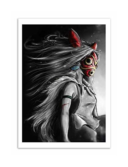 Wall Editions - Art-Poster - Mononoke - Barrett Biggers