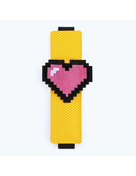 Pen Pouch par Moutarde | Petite trousse | Mini stylo support | autour de votre ordinateur portable | Design Fun 90s