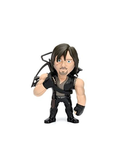 "Jazwares- METALFIGS-The Walking Dead-Figurine 4""-Daryl Dixon, 97938"