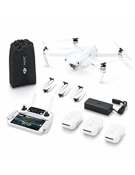 DJI - Mavic Pro Alpine Combo - Drone Quadricoptère Portable & Pliable avec Caméra Incl. Télécommande, 3 Batteries de Vol Intelligente | Gimbal 3-Axis & Caméra 4K | Design Élégant - Blanc