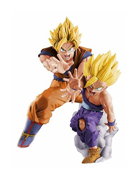 Figurine 16 cm - Dragon Ball - Son Goku & Son Gohan Vs Existence