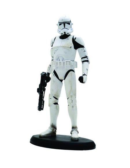 ATTAKUS Star Wars-Elite Collection Clone Trooper La Revanche des Sith - Figurine Référence d'Article: sw016 - 20,5cm