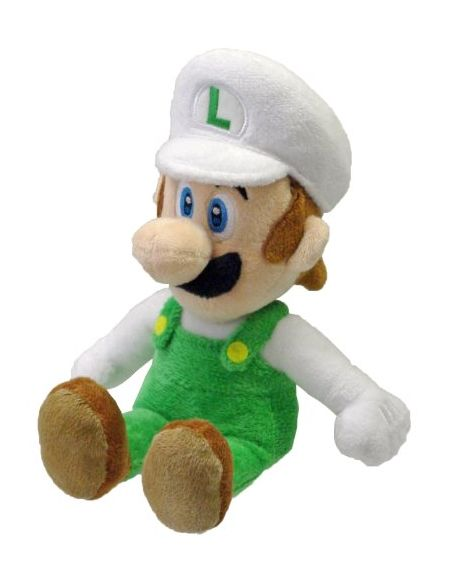 Nintendo Little Buddy Fire Luigi 9 Plush