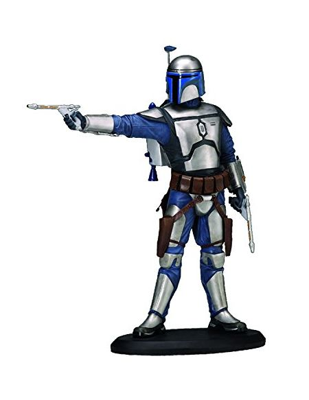 ATTAKUS- Star Wars Elite Jango Fett Statue, 3700472003512, 19 cm