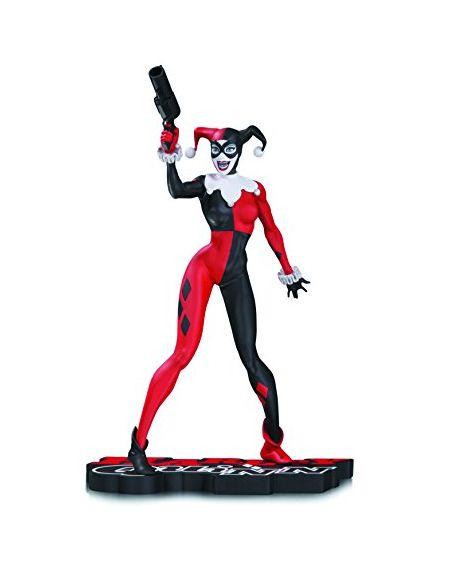 DC Comics Sep160380Harley Quinn Rouge Blanc et Noir Statue