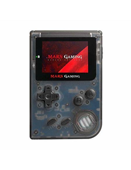 """MMarsGaming MRB - Console rétro Portable (151 Jeux préinstallés, 2"""" LCD, microSD, émulateur GBA Principal, NES secondaire, Snes et GB), Noir"""