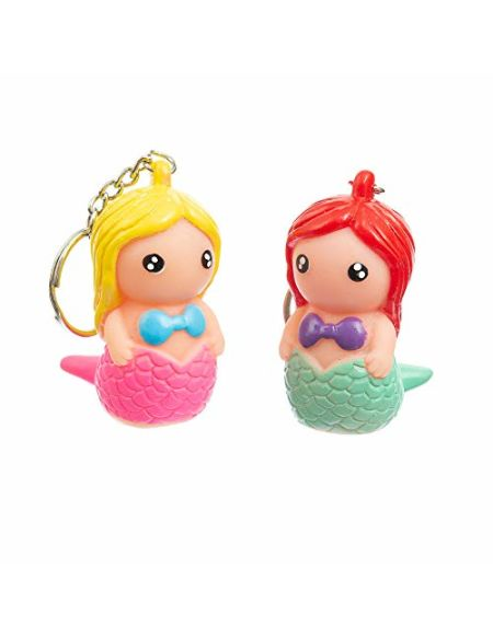 Funtime Gifts Fu7370Porte-clés avec Une Pooing Mermaid