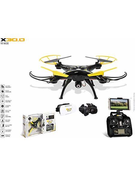 Mondo- Drone X30.0 ultradrone, 63559, Noir et Jaune