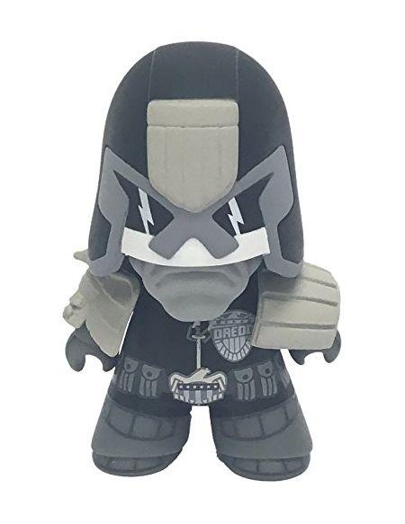 2000AD 2AV-jd4-001Titans Judge Dredd PX Figurine en Vinyle, Noir/Blanc