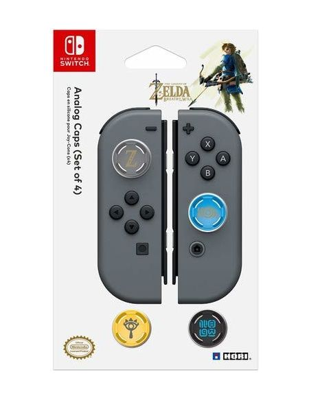 Caps en silicone Hori Zelda Breath of the Wild pour Nintendo Switch