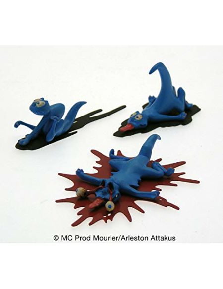Attakus Collection- Pack de 3 schfoumpfs n°2 Figurine de Collection, C783, Polychrome