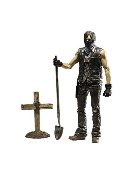 Walking Dead Dec150707 McFarlane Toys TV Série 9 Grave Digger Daryl Dixon Action Figure