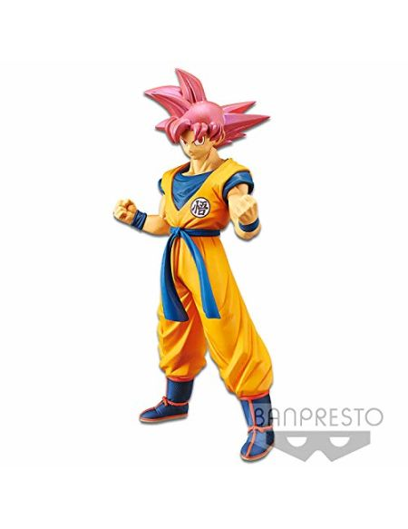 Figurine - DBZ - Movie Cyokoku Buyuden - Super Saiyan God Son Goku 22 cm