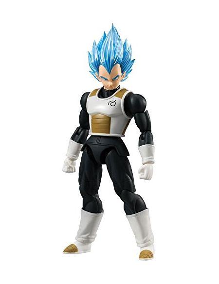 Bandai- Dragon Ball Z Shodo SSGSS Vegeta Figurine, 3296580846580, 9cm