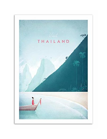 Wall Editions - Art-Poster - Visit Thailand - Henry Rivers