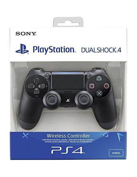 Sony DualShock 4 Manette de Jeu Playstation 4 Noir - Accessoires de Jeux vidéo (Manette de Jeu, Playstation 4, Numérique, D-Pad, avec Fil/sans Fil, Bluetooth/USB)