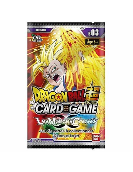 Abysse Booster Dragon Ball Z Serie 3, JCCDBS007_2, Multicolore, Taille Unique