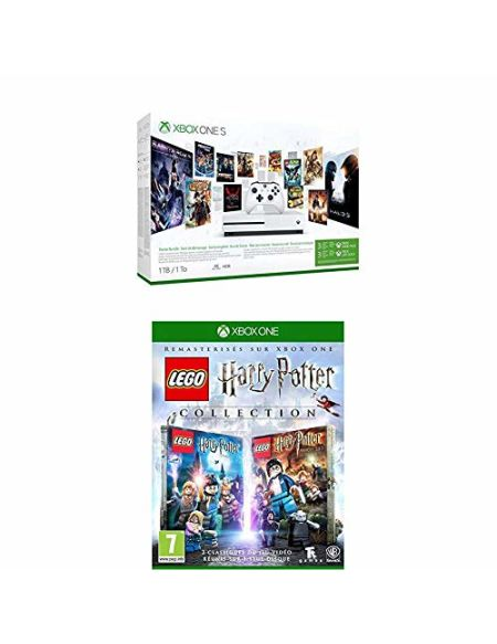 Pack KIDS: Xbox One S 1To 3M Game Pass & 3M Live Gold + Lego Harry Potter Collection + Super Luckys Tale + Rush: A Disney-Pixar Adventure + Crash Bandicoot N.Sane Trilogy