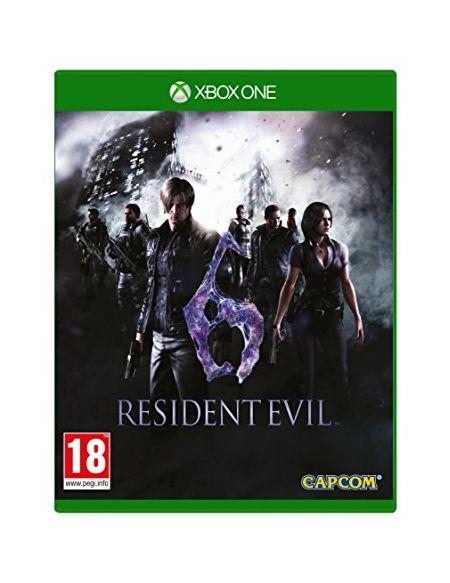 Xbox1 Resident Evil 6 (comprend : toutes les cartes et les cartes multijoueur Dlc) (Eu)