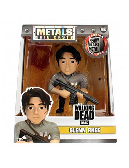 Jada metalfigs - 97937 - Figurine The Walking Dead - Glenn rhee, 4 ""