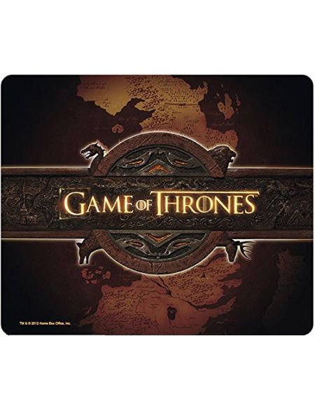 ABYstyle - GAME OF THRONES - Tapis de souris - Logo & Carte