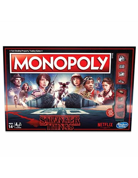 Hasbro Monopoly Stranger Things, HASC45501020, Multicolore, Standard