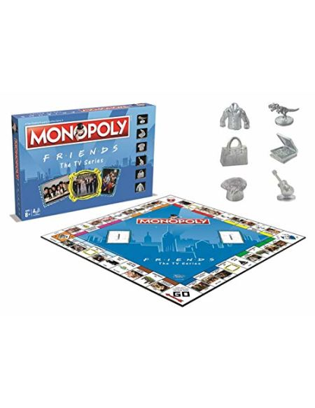 Winning Moves - amis Monopoly Jeu de société - version anglaise