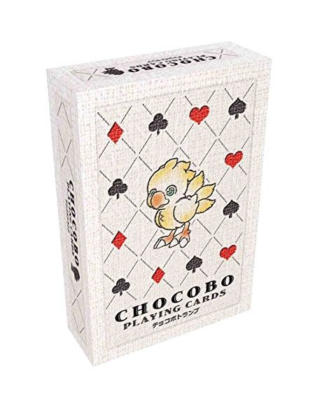 Final Fantasy - 603912 - Figurine - Jeu de 52 Cartes Chocobo