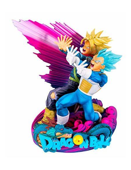Figurine Super Master Stars 18 cm - Dragon Ball Super - Vegeta & Trunks