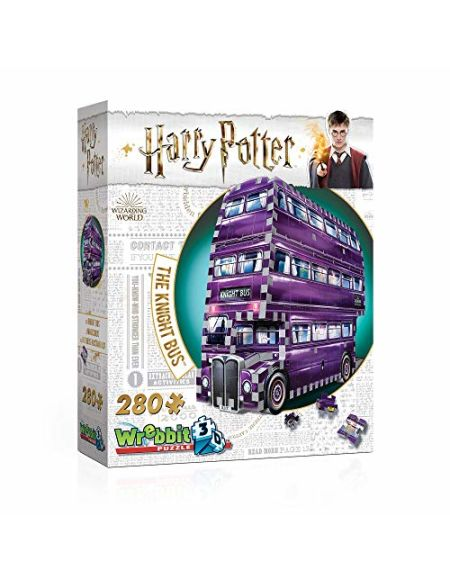 Harry Potter Knight Bus 3D Puzzle (280 Pieces)